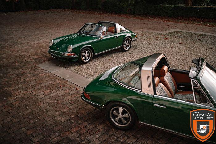 Porsche 911 2.2E Targa 1970 / 2 owners / 100% Matching / Fully Restored