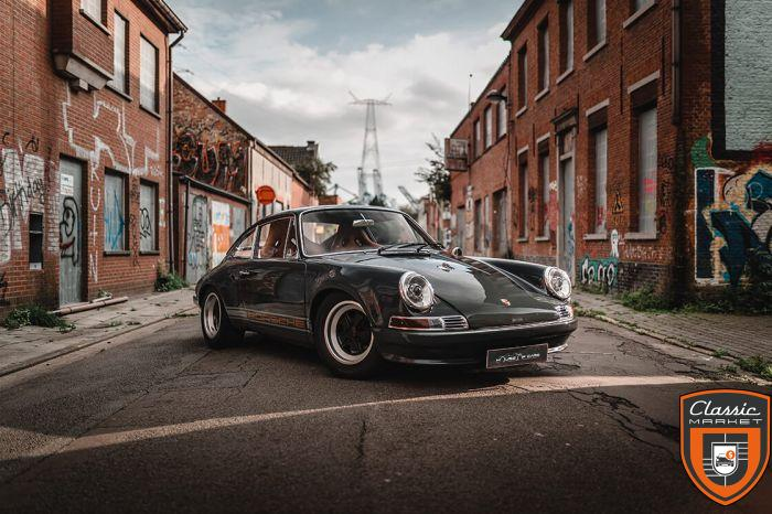 """Porsche 912 SWB 1967 """"Outlaw - Singer"""" / Completely restored"""