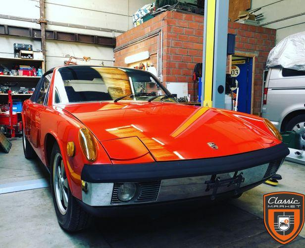 Porsche 914/6 Unique 1 owner car