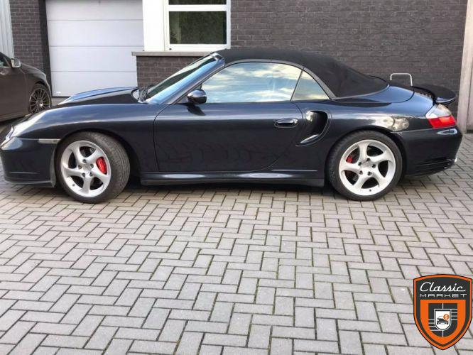 Porsche 911 996 Turbo Carrera Cabrio X50 450ps
