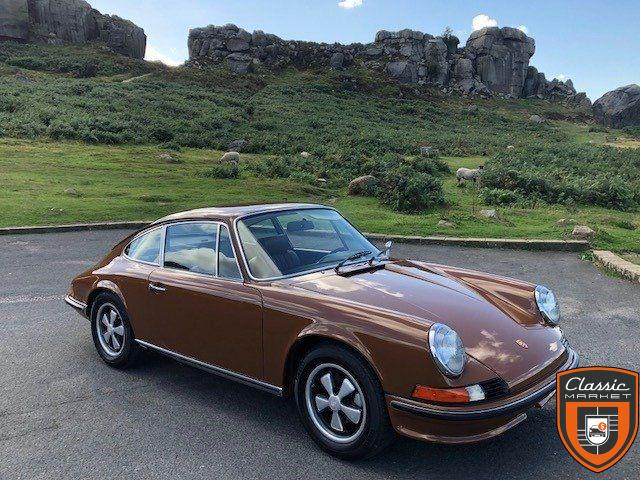 Porsche 911 2.4E - frame off restored by marque expert