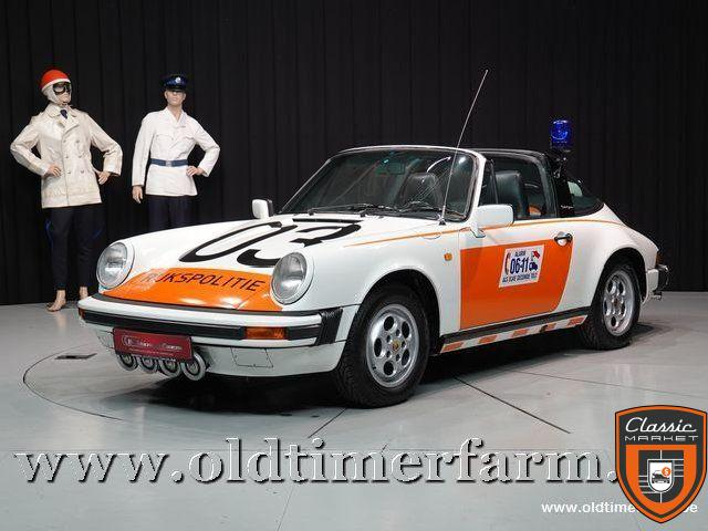 "Porsche 911 3.2 Targa G50 Rijkspolitie ""Alex 03"" '87"