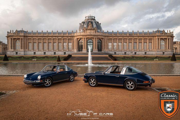 "Porsche 911 2.4T Targa ""Oil klappe"" 1972 / 1 OF 1523ex / Restored"