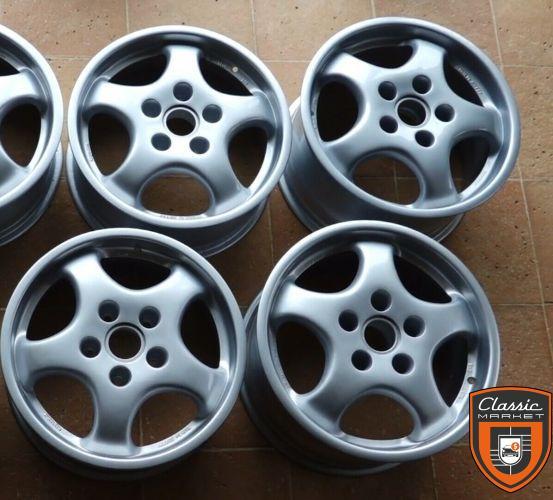 Genuine 17 Porsche 911 964 Magnesium RS forged wheels
