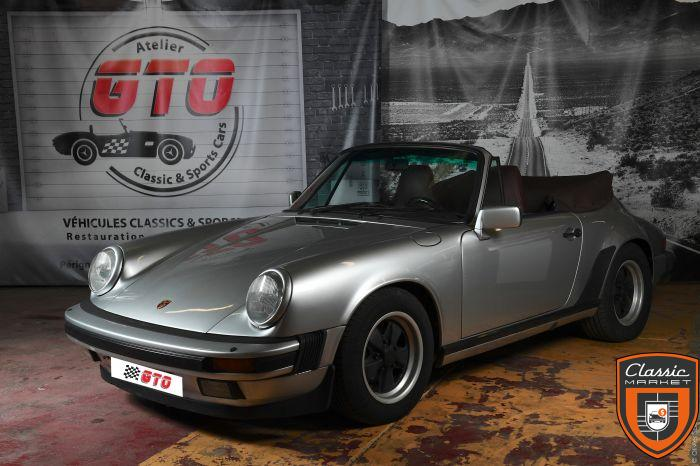 PORSCHE 911 3.2 CABRIOLET 1986