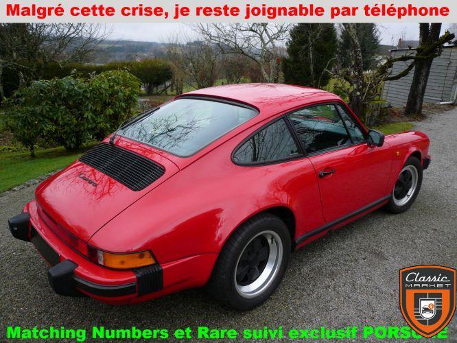 PORSCHE Carrera 89 - C05 - Matching Numbers d'origine - Rare car suivi exclusif concession PORSCHE