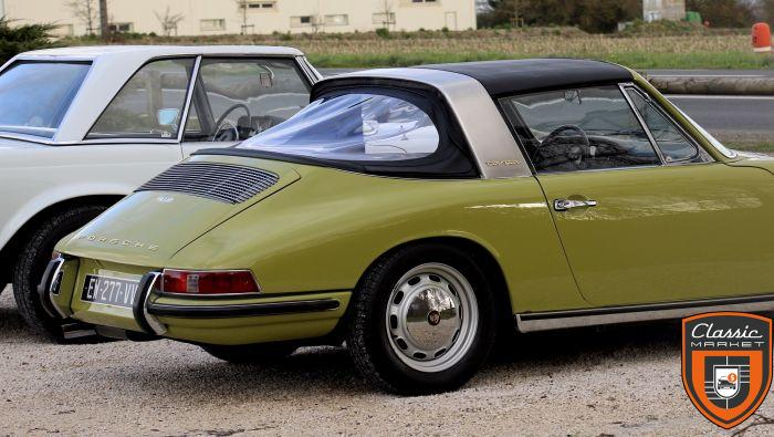 PORSCHE 912 TARGA SOFT WINDOW CHASSIS COURT