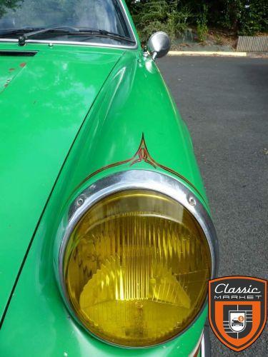 Phare double h1 verre jaune