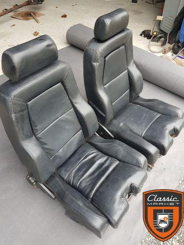sièges baquets vintage