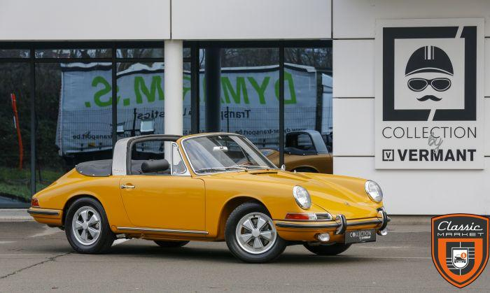 Porsche 911S Soft window Targa - German car - Matching - Restored