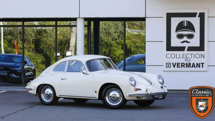 Porsche 356B Super90 - EU car - New paint, chrome & rubbers - Bucket seats
