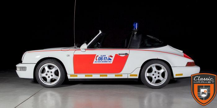 Original Dutch Police car - 1992 911 Targa