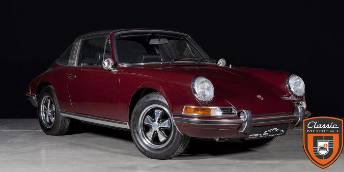 Fully restored 1971 911 T Targa