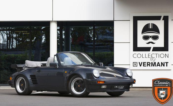 Porsche 930 Convertible - Original Slantnose rear fenders - 61.200km