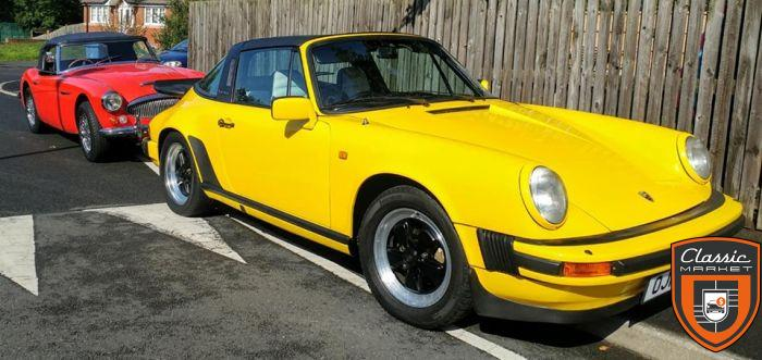 Porsche 911 SC (Super Carrera) 1981 Targa - 204hp