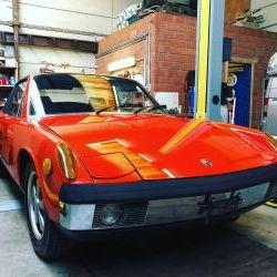 Porsche 914/6 Unique 1 owner car