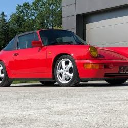 RHD Porsche 964 C4 Targa