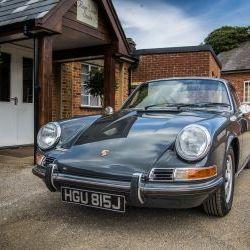 Nut&Bolt concourse & Classic Porsche Magazine featured 911T