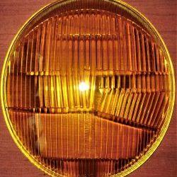 1 set BOSCH headlight lenses yellow Porsche 912