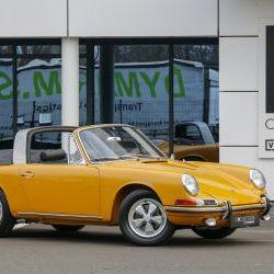 Porsche 911S Soft window Targa - German car - Matching - Restored