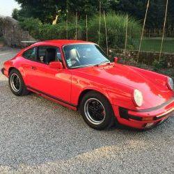 Porsche 3,2 coupé de 1986