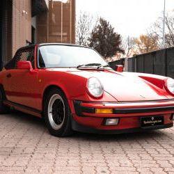 PORSCHE 911 CARRERA 3.2 CABRIO G50 - 1988