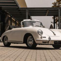 PORSCHE 356 C CABRIOLET 1600 SC - 1964