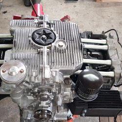 Vend moteur Porsche 914/4 type IV,injection,refait à neuf +BV refaite a neuf +disque embrayage neuf