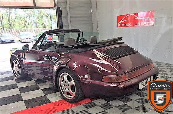 Porsche 911 type 964 cabriolet carrera 2 turbo look usine