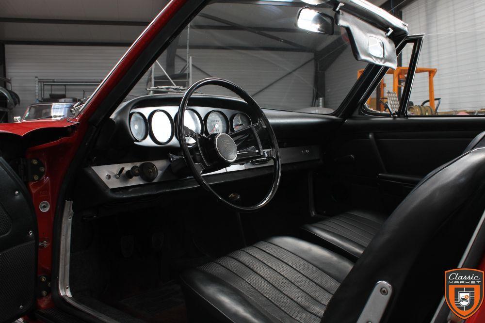 Porsche 912 Targa Soft Window de 1968 châssis court