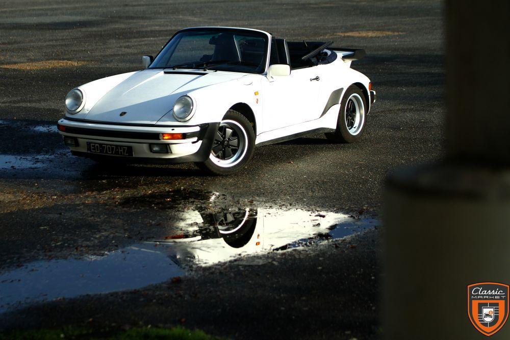 Porsche 911 3.2 Turbo Look Usine
