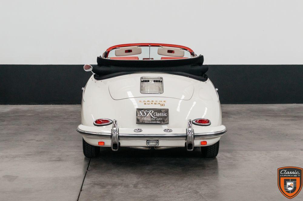 Porsche 356 B T5 Super 90 Cabrio