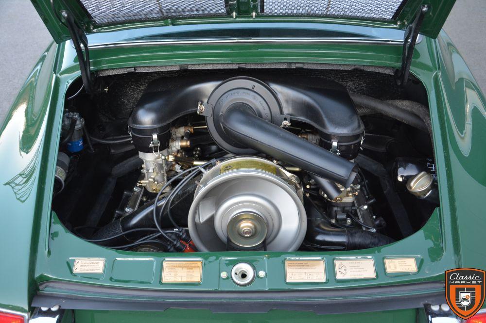 PORSCHE 911 2.0 67 chassis court SWB entièrement restaurée -- FLAT56