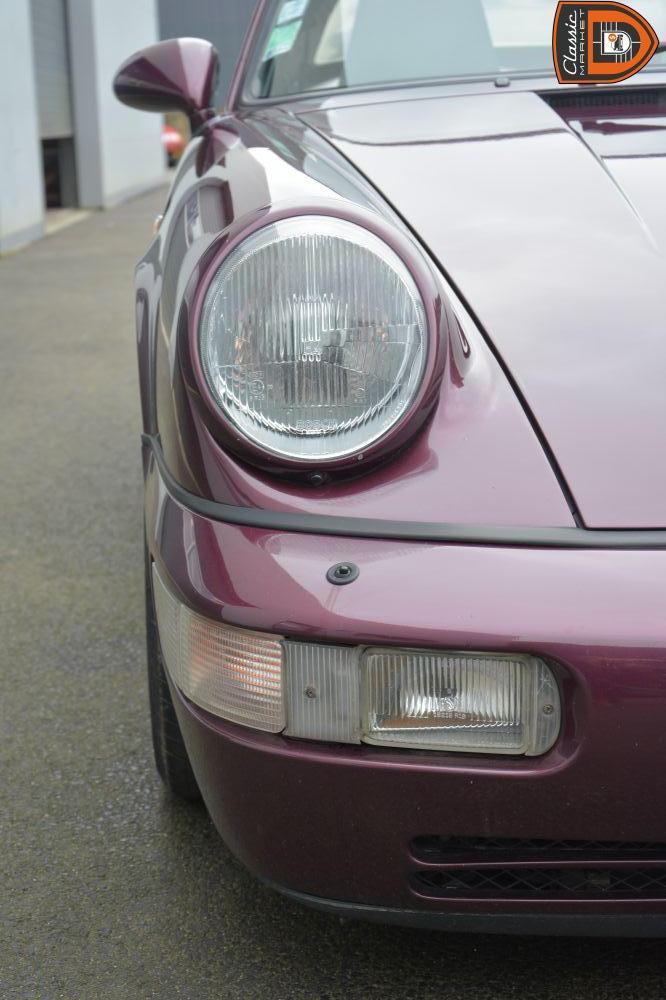 PORSCHE 911 964 C2 PRÉ SERIE CABRIOLET  -- MATCHING  -- FLAT56