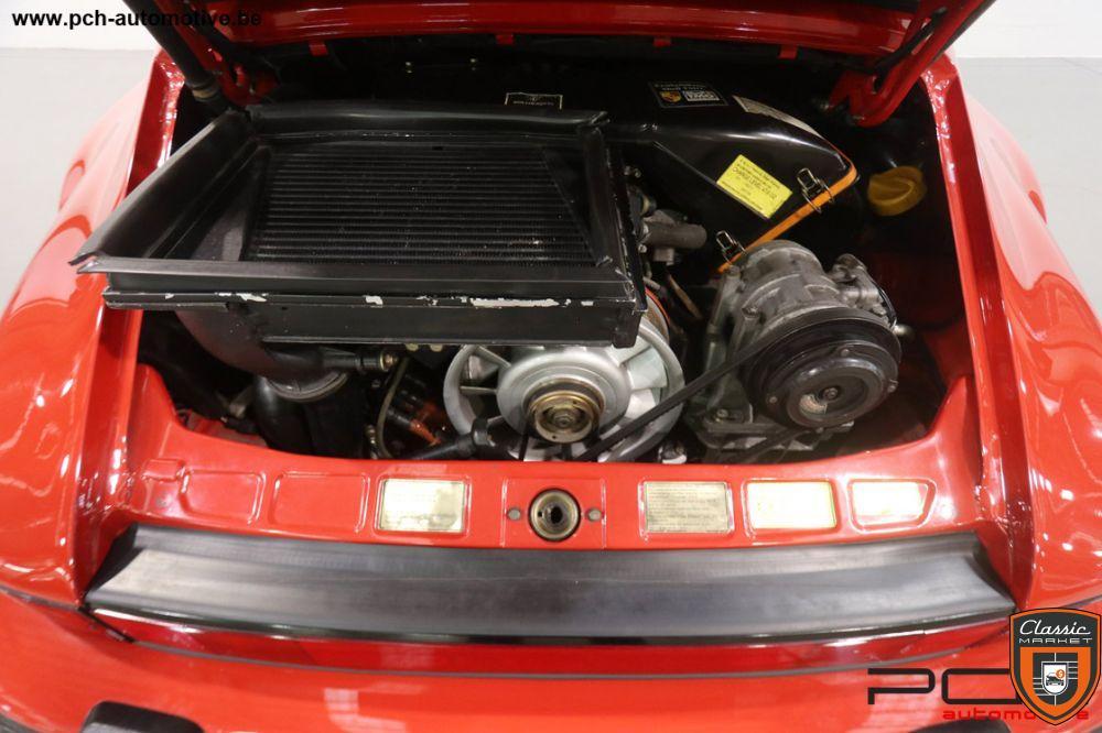 PORSCHE 930 Turbo Cabriolet 3.3 300cv Boîte 5 G50 (1 Of 918)
