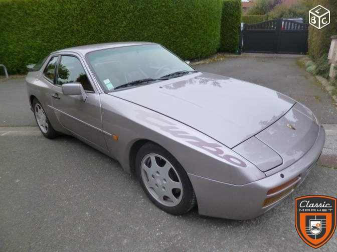 Porsche 944 Turbo Cup 1988 Silver Rose 104 exemplaires SONAUTO M 758