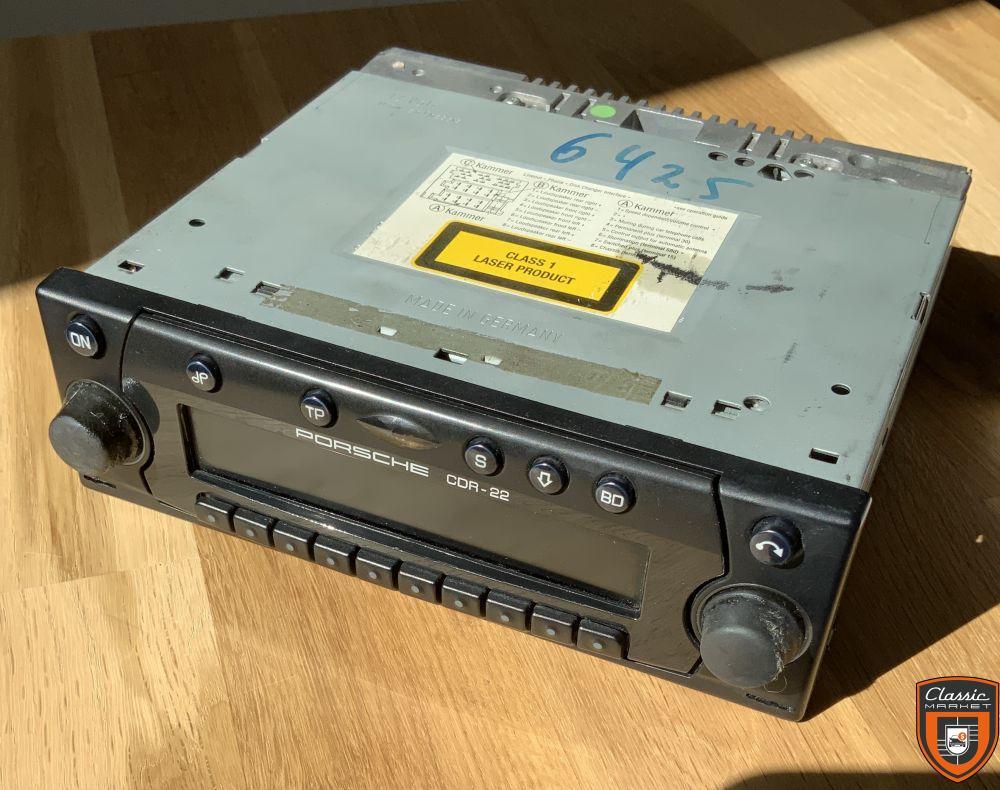 auto radio PORSCHE 993 original