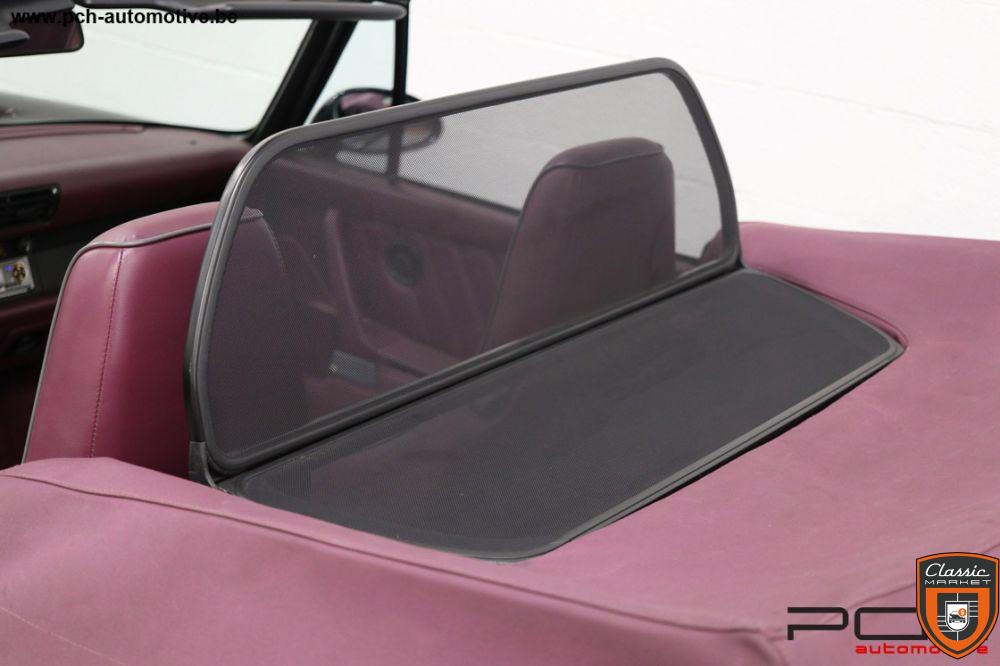 PORSCHE 964 Cabriolet Carrera 2 3.6 250cv - Ultra Rare Combo Colour -