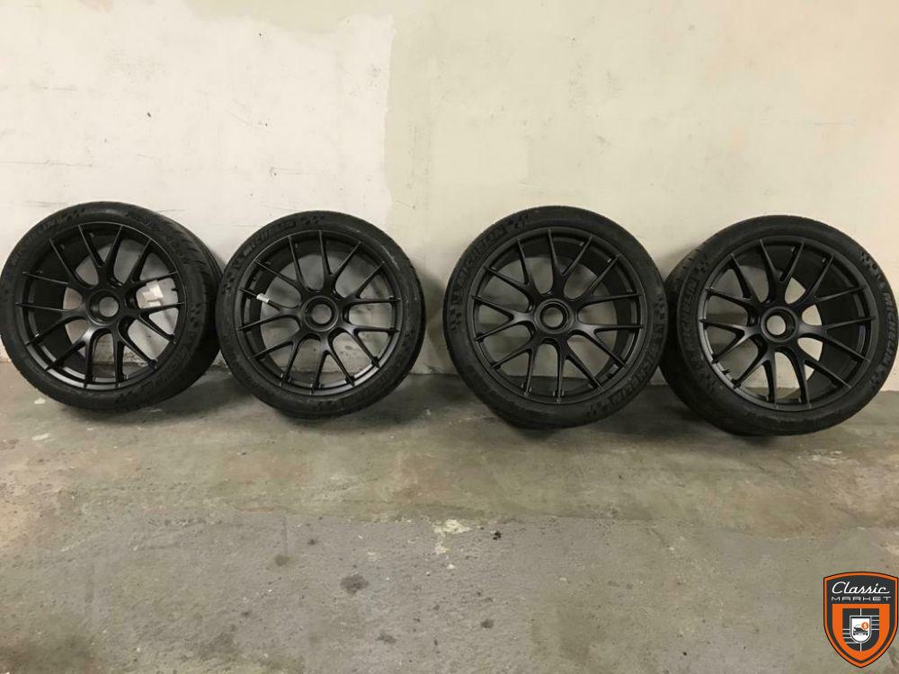 Porsche 991 GT2 Rs GT3 Rs 20'' 21'' Magnesium Rim Wheel Central Locking Set