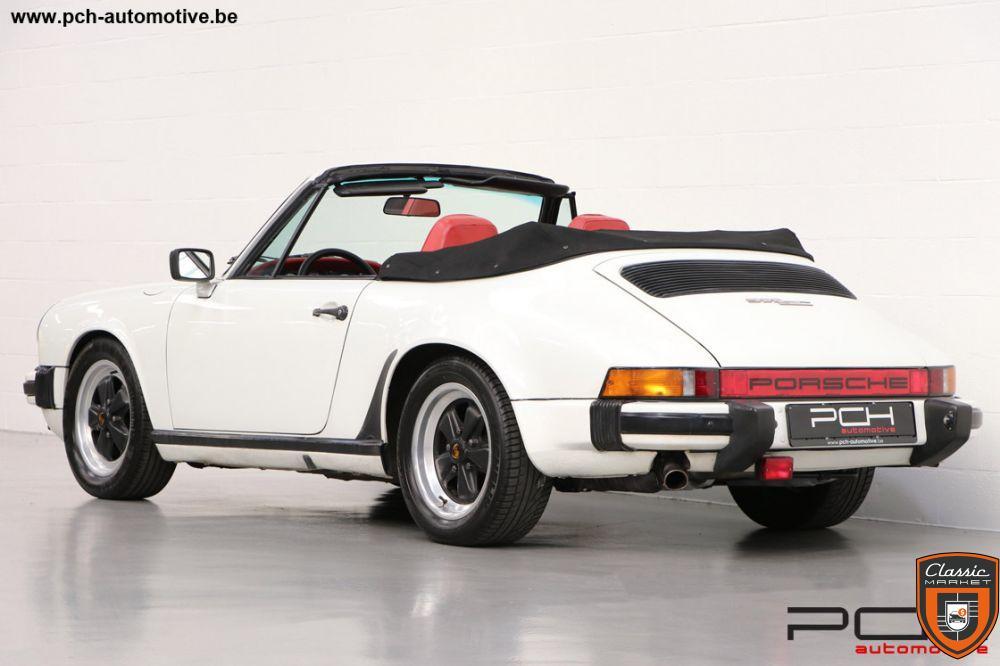 PORSCHE 911 3.0 SC Cabriolet 204cv