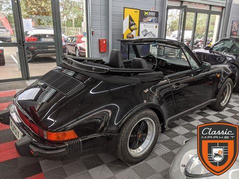 Porsche 911 type 911 3,2 cabriolet TLU
