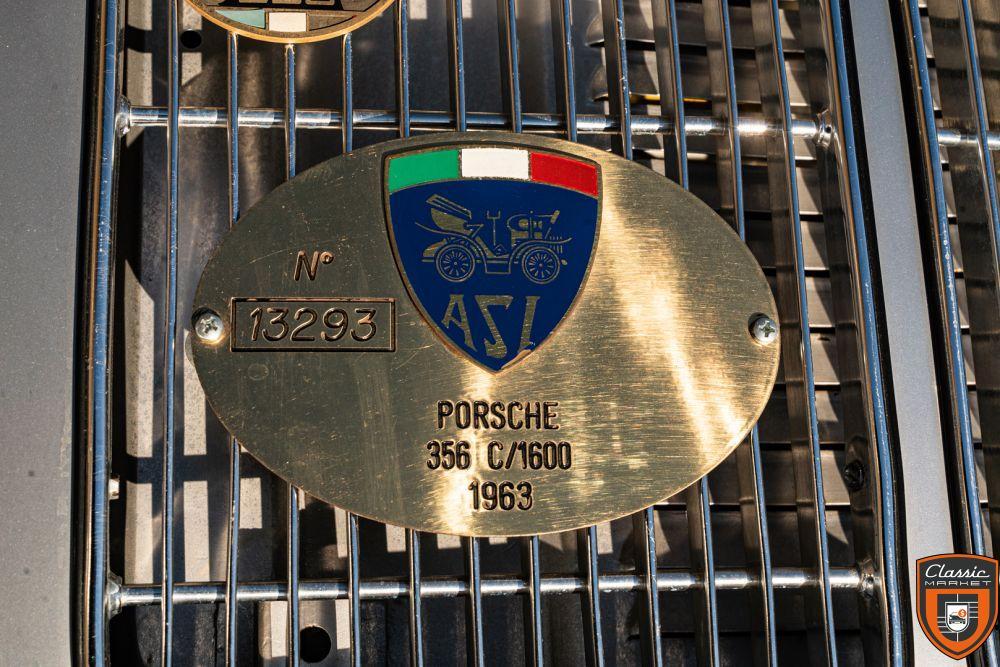 "PORSCHE 356 C 1600 CABRIO ""REUTTER"""
