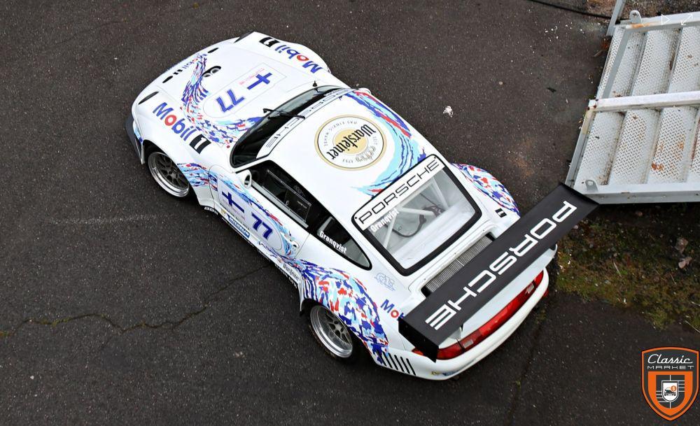 Porsche 911 993 préparation GT2 EVO GT1 FIA spec