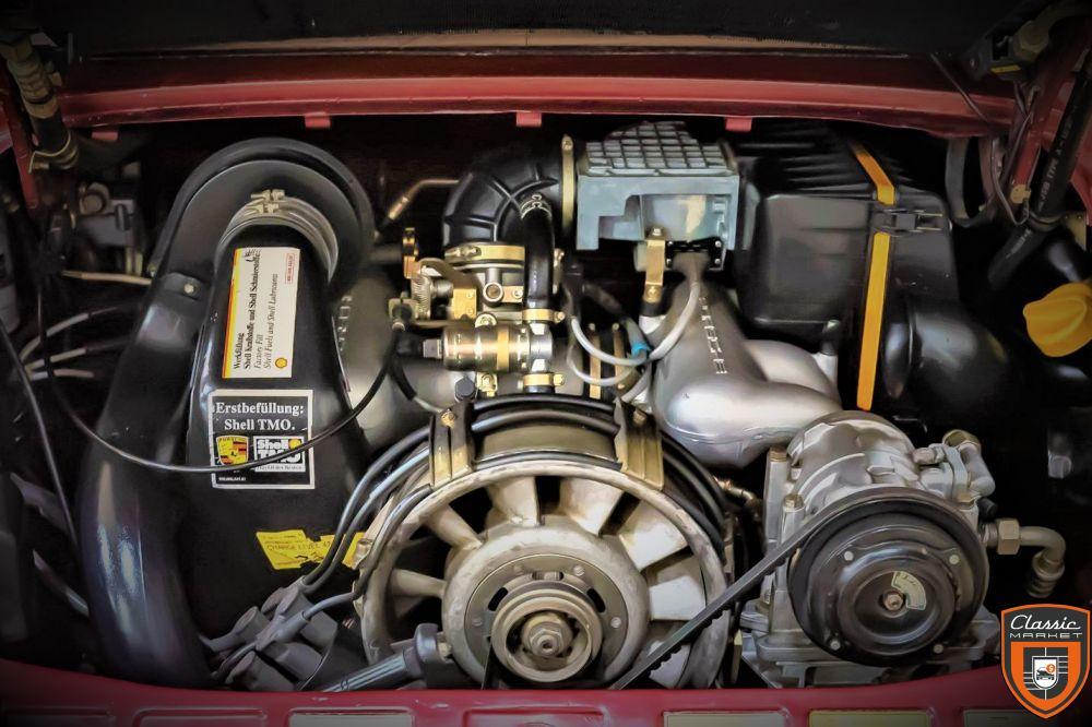 911 carrera cabriolet, 3.2L, boite G50, 1989