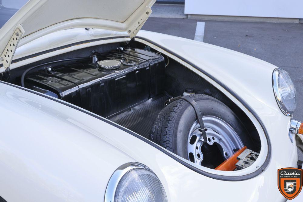 Porsche 356B Super90 - EU car - New paint, chrome & rubbers - Bucket seats