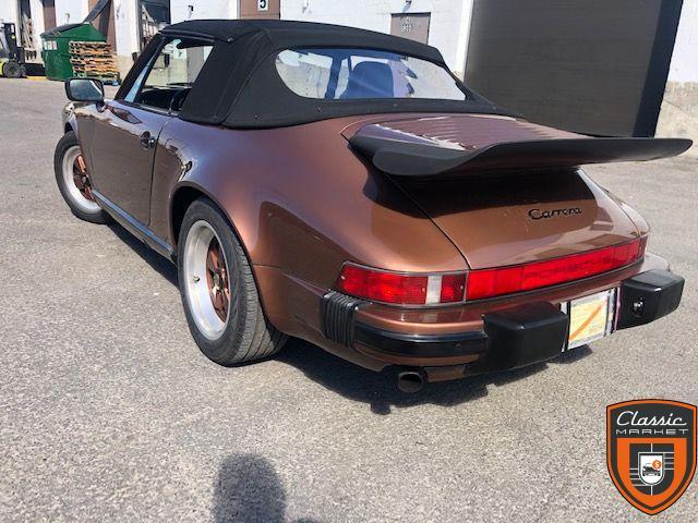 Porsche 911 1989 Convertible 3.2 G50