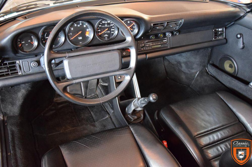 Porsche 911 Carrera Speedster étroit