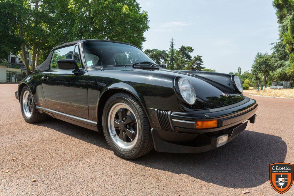 Porsche 911 SC Cabriolet 1983 - Très bel état général - Garantie