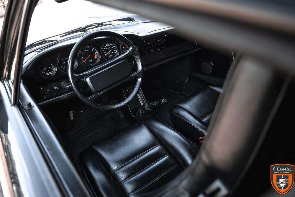 PORSCHE 911 CARRERA 3.2 CABRIO - 1986