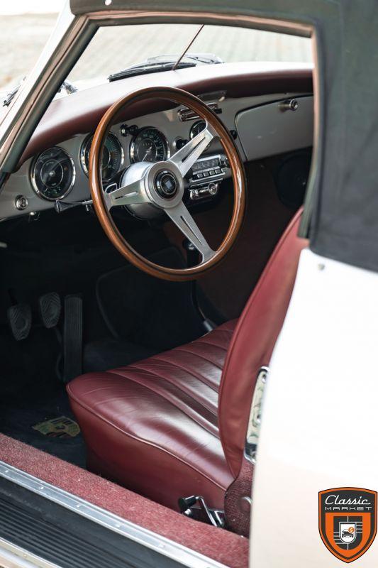 PORSCHE 356 B 1600 S CABRIOLET - 1963